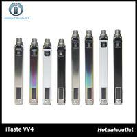 Wholesale Electronic Cigarette Vw - Innokin iTaste VV4 VV4-M Battery Variable Wattage 750mAh 1000mAh VW Battery 4 Colors 6-15W Electronic Cigarette Batteries