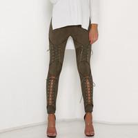 neue hosen styles für frauen großhandel-Damen Mesh Jeans New Style Sexy Fashion Damen Hosen Weiß Schwarz Skinny Women Hose