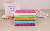 Wholesale Wholesale Cotton Cleaning Rags - Wholesale high efficient ANTI-GREASY color dish cloth,bamboo fiber washing dish towel,magic Kitchen cleaning cloth,wipping rags TY12