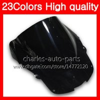 Wholesale honda blackbird - 23Colors Motorcycle Windscreen For HONDA CBR1100XX Blackbird 1100XX 1996 1997 1998 1999 2000 2001 96-07 Chrome Black Clear Smoke Windshield