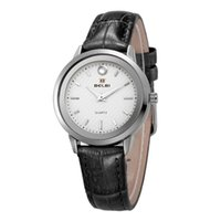 Wholesale Custom Logo Watches - OEM Custom Logo Chronograph Wristwatches Stainless Steel Back Water Resistant Branded BELBI Elegance 2018 Luxury Master Women Swiss Watch