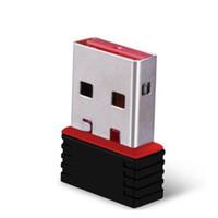 ingrosso rete wireless g-Nano 150M USB Wireless Wireless Adapter 150 Mbps IEEE 802.11n g b Mini adattatori Antena Chipset MT7601 Scheda di rete 100 pz DHL libero