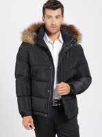 Wholesale Snowimage Down Coats - Fall-Free Shipping! 2015 Men's new down coat Snowimage large fur collar plus size plus size casual male thickening winter down coat