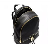 Wholesale Cross Body Backpacks For Women - high quality Backpack Classic Leather gold chain cross Body handbags for women shoulder bags tote messenger bag