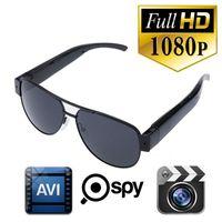 Wholesale Sunglasses Full Hd Camera - Full HD 1080P sunGlasses Camera Pinhole Camera Sport Camera DVR Video Recorder Eyewear DV