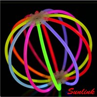 Wholesale Chemicals For Fish - beautiful flower style multi colors Light Emitting Stick fish light glow stick christian gift toy for kid Chemical fluorescent