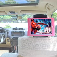 Wholesale ipad rubber shockproof case for sale - Group buy TFY Kids Car Headrest Mount Holder for iPad Air Note Do not fit iPad Air Detachable Lightweight Shockproof Anti slip Soft Silicone Handle