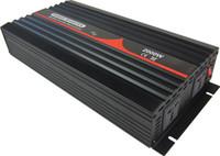 inversor de onda sinusoidal pura de 24vdc al por mayor-Envío gratis 24VDC a 220VAC 50HZ Universal Socket 2000W inversor de onda sinusoidal pura