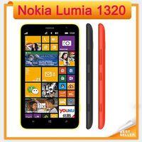 Wholesale Dual Os Windows - Original Lumia 1320 1GB RAM 8GB ROM GPS WIFI Bluetooth refurbished Unlocked 3G Nokia 1320 6.0 inch Windows dual core wcdma Mobile Phone