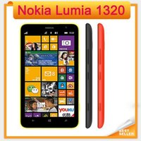 Originale Lumia 1320 1GB RAM 8GB ROM GPS WIFI Bluetooth rinnovato Sbloccato 3G Nokia 1320 6.0 pollici Windows dual core Telefono cellulare wcdma