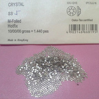 Wholesale Crystal Diamond For Nail Art - Wholesale-Free Shipping Good Feedback Swarovski Nail Crystals Rhinestones Nail Art Jewelry Diamonds Nail Decoration Supplier for Salon Use