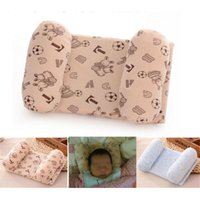 Wholesale Support Pillow Baby Safe - New Soft Comfortable Newborn Infant Baby Sleep Positioner Prevent Flat Head Shape Pillow Safe Support Adjustable size