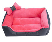 Wholesale Pet Nest Dog House Kennel8 - Wholesale-Super soft pet nest kennel8 cat litter dog bed sand small dogs teddy