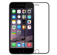 Wholesale Colored Iphone 5s Screen - 3D Full Covered Tempered Glass Screen Protector with Colored Titanium-aluminium Alloy Edge for iPhone5 5s 6 6s 7 iPhone6 7 plus Ultra Thin