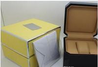 uhrenbox verkäufer großhandel-Fabrikverkäufer 2016 Marke Luxus Herren Für Uhrenbox Original Box frau Uhren Boxen Männer Armbanduhr box