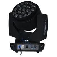 usa mk UK - 2pcs lot Moka MK-M23 Stage Led Moving Head Zoom 19x15W RGBW Bee Eye Disco Light Spot with Flight Case
