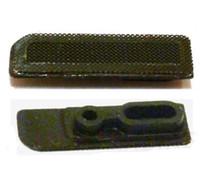 iç parçalar toptan satış-Yeni iç üst kulaklık hoparlör ızgara örgü iphone 5 5s 5c küçük parçalar için set