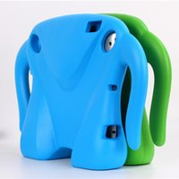 Wholesale Apple Ipad Shapes - EVA Elephant Shape Foam Cover Case for iPad 2 3  4 Shockproof  Safe Soft 9.7 inch cases for kids