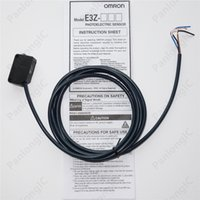 Wholesale Sensor Omron - NEW Omron DC 12 to 24V E3Z-D61 Compact Photoelectric Sensor Diffuse-reflective Pre-wired NPN Switch with Built-in Amplifier Free Shipping