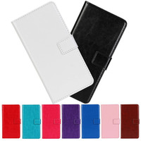 Wholesale Cover One M7 - Crazy Horse PU Leather Flip Wallet Case Cover With Credit Card Slots Stand Holder For HTC Desire 610 One M7 One2 M8 Mini M9 Plus M9+