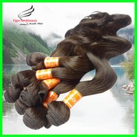 Wholesale Cheap Wholesale Products Free Shipping - Peruvian Hair Weave, Cheap Human Hair Products, Mix length 12~30inch, 8pcs lot,Color 2# Dark Brown,100% Human Hair Express Free Shipping