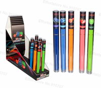 Wholesale Ego Cigarette Flavors - 2016 Aa Battery E Shisha Pen Disposable Electronic Cigarette Ego Hookah Cigarettes Diamond Led Lights 500puffs 5 Colors Flavors Cig Gift