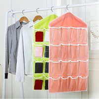 Wholesale Case Closet - 2015 16 case clothing socks and underwear to receive a bag of closet small pouch after the wall door pocket classification