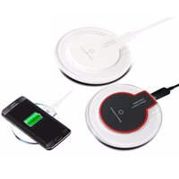Wholesale Crystal Fantasy - Qi Crystal Wireless Charger Charging Pad For Samsung Galaxy S6 S7 Edge S8 Note 5 8 For iPhone X 8 Plus Fantasy High Efficiency pad Universal