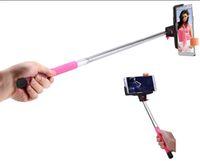 Wholesale Camera Telescopic Monopod - Bluetooth self timer pole for mobile phone,The most sell Camera Handheld Extendable Monopod Selfie Stick good Telescopic 50pcs lot