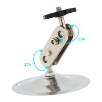 Wholesale Metal Ceiling Material - Quality metal material Wall Ceiling Mount Stand Bracket for CCTV Security IP Camera, with adjustable installation angles, very convenient.
