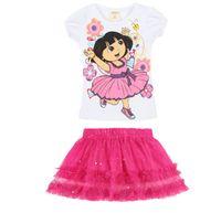 Wholesale T Shirt Layered Skirts - New lace Korean girl tutu skirt layered skirt children T-shirt+skirt 2pcs kids cotton lace skirt suit baby girl skirt set