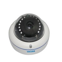 Wholesale Outdoor 264 Camera - Original ESCAM Q645R ONVIF 720P Network IR Dome Camera H.264 P2P Wireless Outdoor IP Camera IP66 Waterproof Web Camera