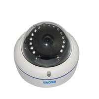 onvif kubbesi toptan satış-Orijinal ESCAM Q645R ONVIF 720 P Ağ IR Dome Kamera H.264 P2P Kablosuz Açık IP Kamera IP66 Su Geçirmez Web Kamera