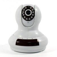 Câmera CCTV Câmera IP HD 720p Rede Wifi Security P2P Cloud CCTV Camera GSM Alarme 1/4 Cmos Ir-cut 3.6mm WPS TF Card DHL