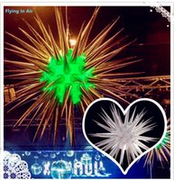 Wholesale Inflatable Light Stars - 2m Party, Ceremony and Event Decor Thorn Inflatable Star with Light Inside