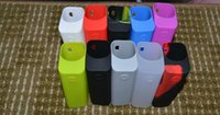 Wholesale Bags Silica - Silicone Case Protective Cover Silica Gel Skin for Joyetech Cuboid 150W Box Mod New Silicon Cases Bag Colorful Rubber Sleeve RX200 NEBOX