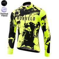 3xl велосипедная куртка оптовых-2019 Morvelo Pro команда Winter руно Велоспорт ветрозащитный Windjacket Тепловое MTB велосипед пальто мужские разогреть куртку