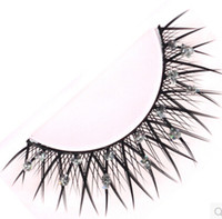 Wholesale Marlliss Eyelashes - Wholesale-Eyelashes original Marlliss 518 high quality False Eyelashes glitter fake stage eye lashes Wholesale(10pairs lot)