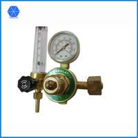 Wholesale co2 regulators - Wholesale-Forged copper CO2  Argon regulator, Female G5 8 Argon pressure regulator AR Reducer Pressure Gas Flowmeter for Tig Welding