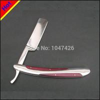 Wholesale Beard Knife - Japan Manual Shaver Professional Straight Edge Stainless Steel Sharp Barber Razor Folding Shaving Knife Shave Beard Cutter