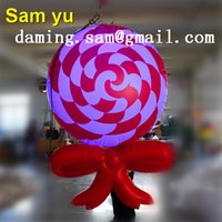 Wholesale Giant Candy - High quality giant inflatable Candy bar for nightclub decoration