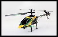 Wholesale Large Helicopters Remote - Wholesale-Hot Sale WL V912 4 Channels RC Helicopter Super Large Sky Dancer Ready-to-Go Remote Control Grownups Toys for Gift Free Shipping