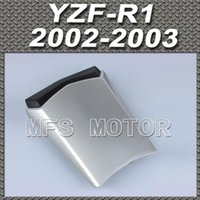 Wholesale For YZF R1 Motorcycle Rear Pillion All Silver Injection ABS Seat Cowl Cover For Yamaha YZF R1