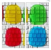 Wholesale magic cleaning gel - Gel rub the keyboard new magic dust composite super clean sticky notebook computer non-toxic free shipping