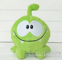 Wholesale Om Nom Plush Toy - 18cm om nom frog plush cut the rope Soft rubber cut the rope figure classic toys game