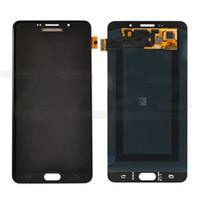 tela de toque a9 venda por atacado-Quente! Original Tela LCD Assembly Para Samsung Galaxy A910 A9 2016 A9100 LCD Screen Display Digitizer Touch DHL livre Completo com ferramentas gratuitas