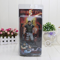 "Wholesale Neca Toys Resident Evil - 7"" 18cm NECA Resident Evil 5 Chris Redfield PVC Action Figure Collectible Model Toy Christmas Gifts"