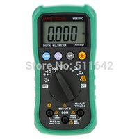 Wholesale Mastech Capacitance - Mastech MS8239C Handheld Auto range Digital Multimeter Temperature Capacitance Frequency Tester AC DC Ohm VOLT Amp Multitester