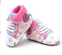 Wholesale Baby Dinosaur Shoes - 2015 Sell crazy!Pink dinosaur toddler shoes!children shoes,Lapel pentagram baby shoes,princess casual shoes,soft girls shoes.12pairs 24pcs.L