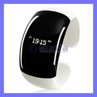 Wholesale Wholesale Bracelets Phone Alert - Wholesale-Bluetooth Watch Bracelet with Caller ID Display+Vibrating Alert +Mobile Phone Anti-lost+Digital Clock Display